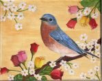 Bluebird of Happiness by MeadowDelights