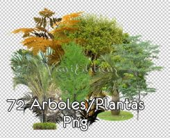 Pack png de Arboles -VaniEdition's by INFINITEPNGvg