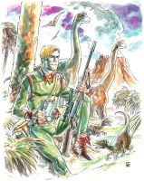 Rip Hunter, Time Master by deankotz