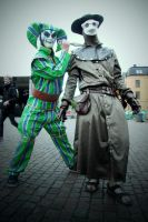 Harlequin and Doctor from Assassin's Creed by N3kosann