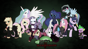 My Little Masquerade Wallpaper by Rhanite