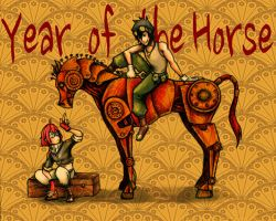 Year of the Horse by ArachRoy