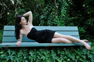 Emma - ivy bench 1 by wildplaces