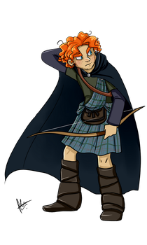Prince or Dunbroch by yuramec