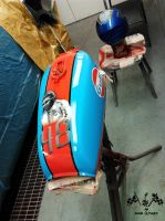 Gulf Racing by madsparkairbrush