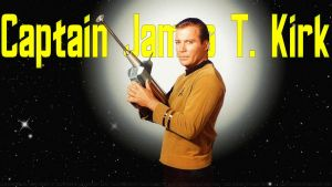 William Shatner Captain James T Kirk by Dave-Daring
