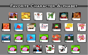 My Favourite Characters By Letter by TheAtomMan1996