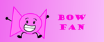 Bow Fan Button by Thegreenskyofbfdi