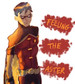 Robin - Feeling the aster by Jeepsterz