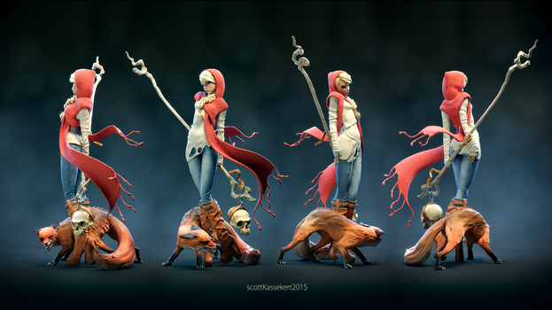 Red Riding Hood ColorTurnAround2k by sKasse