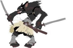 Shadow Gnoll by annumsooy