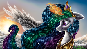 Celestial Sol by EmeraldParrot
