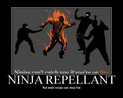 ninja repellant by thetimeofdying13