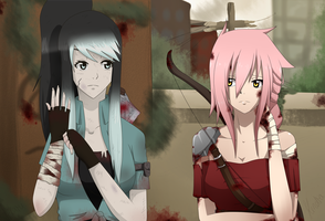 Fairy Tail OC~ Collab with Hikaru~ The Last Of Us by KendyPun