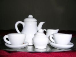 Tea set by ephedrina-stock