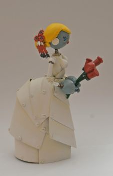 Robot Bride by SpaceCowSmith