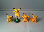 My Pikachu Characters by Self-Eff4cing
