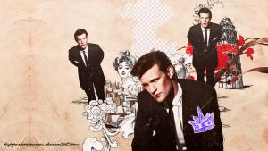 Matt Smith wallpaper 12 by HappinessIsMusic