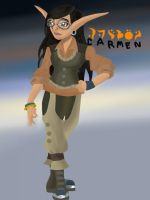 me in jak and daxter form lol by allanimerules1