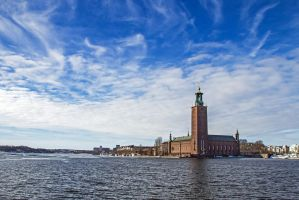 Stockholm City Hall by attomanen