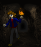 Sora in the crypts by roxaswantsacupcake