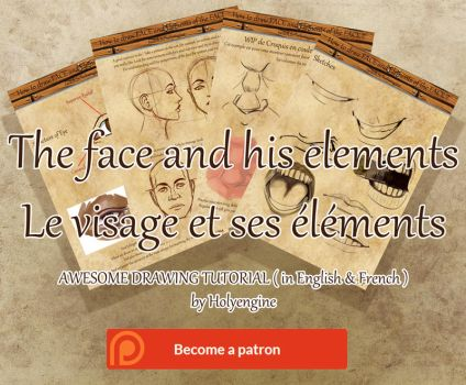 Gumroard Ebook Drawing the Face and its Elements by Holyengine