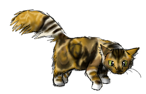 Mr. iscribble Kitteh by Moonblizzard