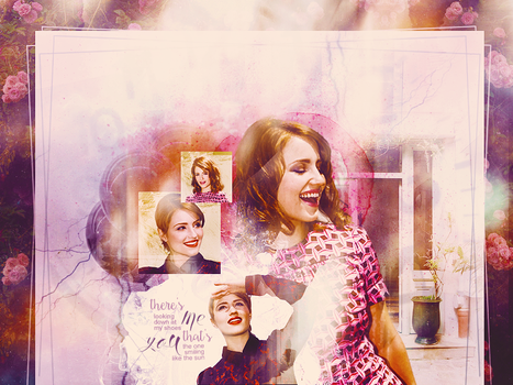 There's Us - Dianna Agron blend by Blowthat
