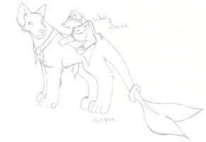 Wolfie and Zaash 2005 by CrazyBatty