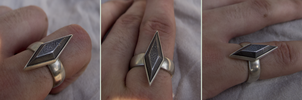 [COMMISSION] Damascus Ring - Worn by CountMagnus