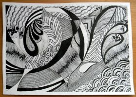 Zentangle by molfseen
