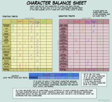 Character balance by vynn-beverly