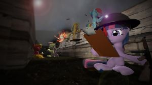 Dear Princess Celestia: War is Hell by SynisterSnuggles