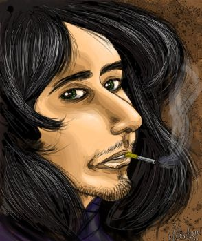 Smoking Ray by Naes-chen