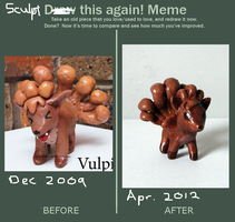 'Sculpt' this again - Improvement meme by yingmakes