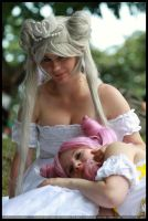 Mother and daughter by Baltasar89
