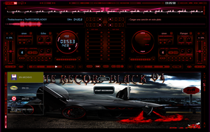 Skin Red Design For Virtual DJ 7 by THERECORDBLACK01