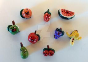 Fruit Magnets Set 3 by TerraLove