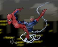Spiderman by Plugin848y