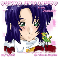 Birthday Athrun, for Danielle by Prince-in-Disguise