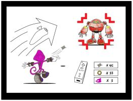 Espio Gameplay Idea for Wii by funkyjeremi