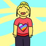 Rebel Wilson Adventure Time Style by ForestLoverGreen