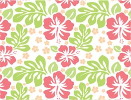 Aloha 2 Seamless Pattern by jilbert