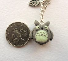 little clay totoro by Stefimoose