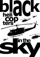 black helicopters by andrei75