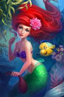 Ariel the little mermaid by LidTheSquid