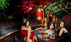 Revelry and Tea by GillianIvy