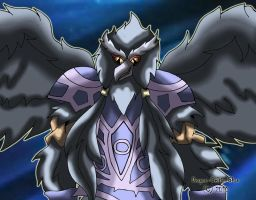 Blackwing - Elphin the Raven by Dragon-Celtic-Chan