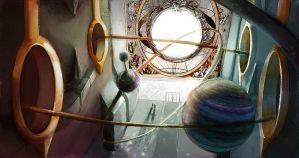 EOW 158 - The Orrery Chamber by RedPaints