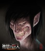 Attack on Titan meets Painting by artupida
